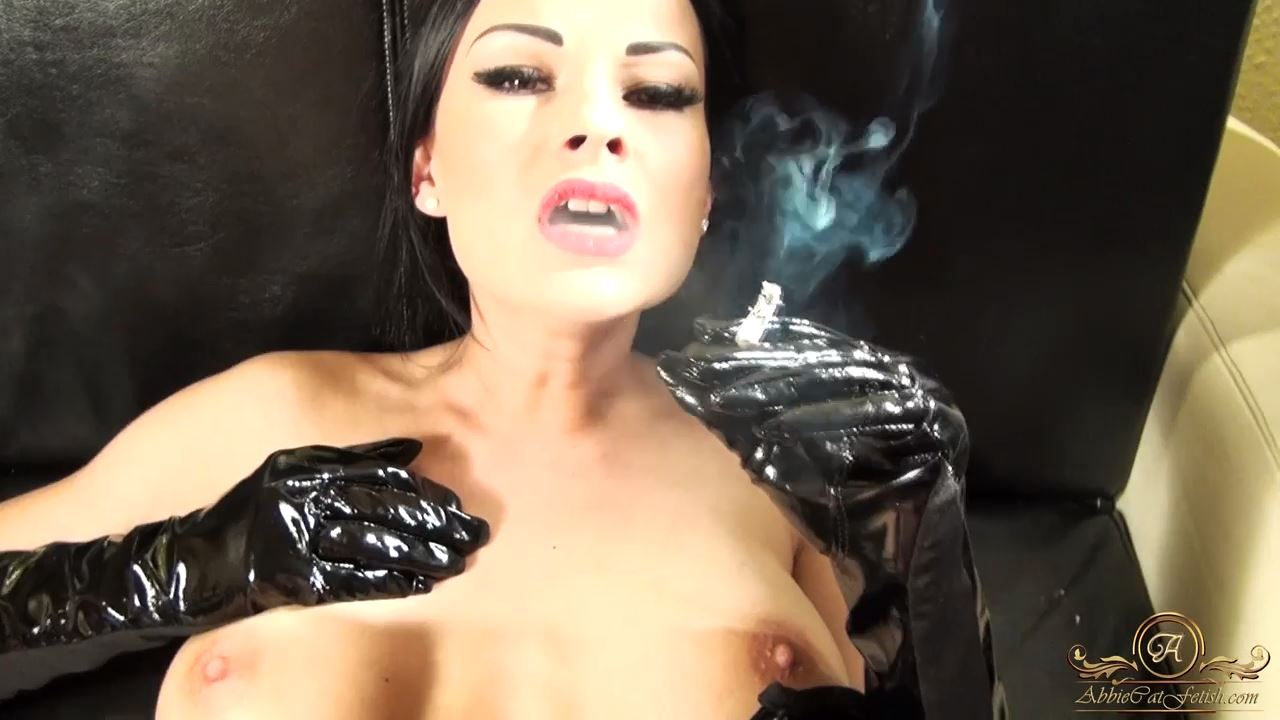 Goddess Abbie Cat In Scene: Sex, Smoking, PVC - ABBIECATFETISH - HD/720p/MP4