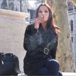 Goddess Abbie Cat In Scene: Smoking Outside – ABBIECATFETISH – HD/720p/MP4