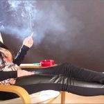 Goddess Nicky In Scene: Nicky Smoking and Relaxing – ABBIECATFETISH – HD/720p/MP4