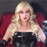 Goddess Abbie Cat In Scene: Blonde Abbie Smoking in PVC – ABBIECATFETISH – HD/720p/MP4