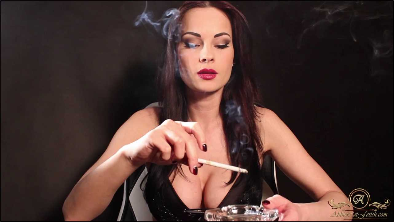 Goddess Abbie Cat In Scene: Smoke With Me - ABBIECATFETISH - HD/720p/MP4