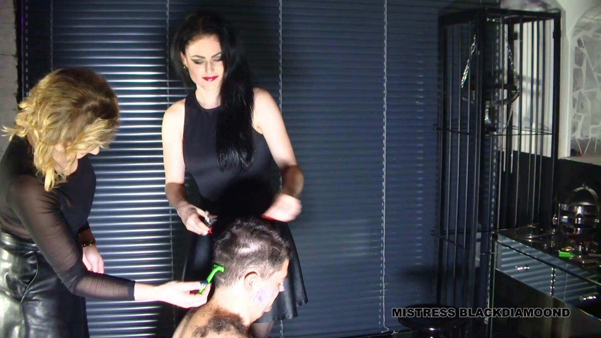 Mistress Blackdiamoond In Scene: Slave smeared and circumcised - CLIPS4SALE / MISTRESS BLACKDIAMOOND - FULL HD/1080p/MP4