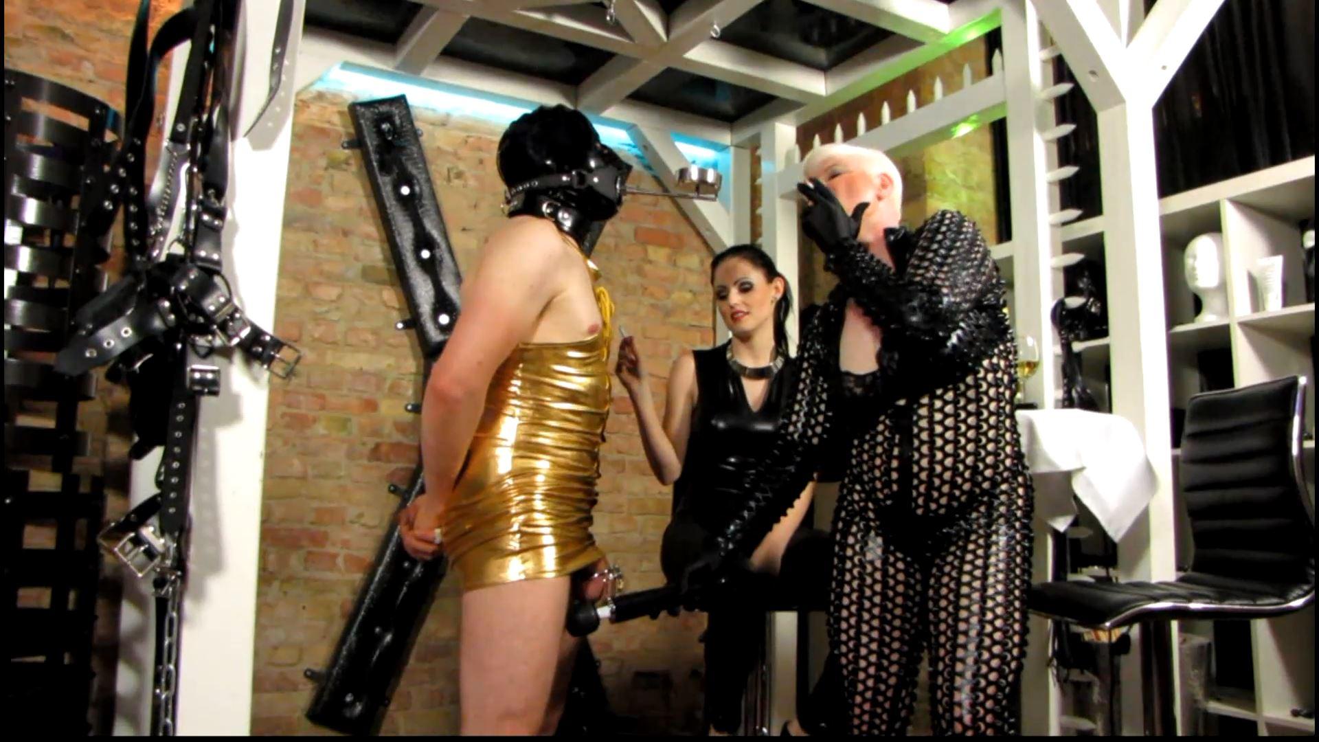 Mistress Blackdiamoond In Scene: Chastity Put To The Test - CLIPS4SALE / MISTRESS BLACKDIAMOOND - FULL HD/1080p/MP4