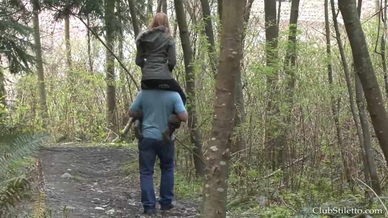 Princess Ami In Scene: Princess Ami's First Trail Ride - CLUBSTILETTO - HD/720p/MP4