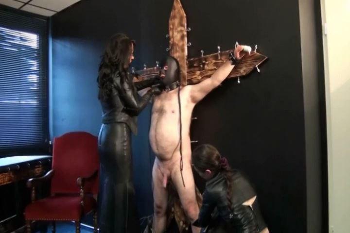 Fetish Diva Nadja In Scene: Bi-slave education of the Leather Lords Part 1 - FETISH-DIVA-NADJA - SD/480p/MP4