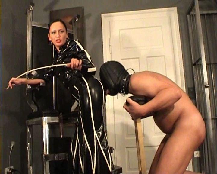Fetish Diva Nadja In Scene: Torture of the slave on the fuck chair Part 1 - FETISH-DIVA-NADJA - SD/576p/MP4