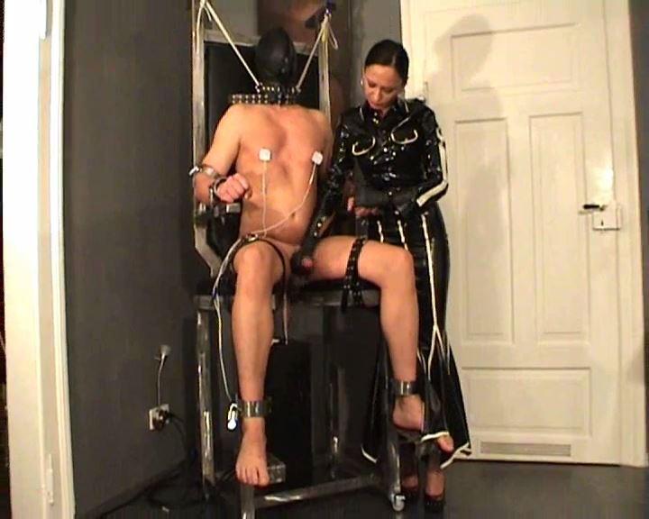 Fetish Diva Nadja In Scene: Torture of the slave on the fuck chair Part 3 - FETISH-DIVA-NADJA - SD/576p/MP4