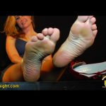 Tall, Glorious Czech Model Sabina's Large, High-Arched Feet in Your Face – FOOTNIGHT – SD/576p/MP4