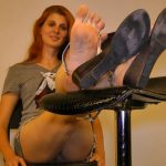 Morgane Paris In Scene: Tall gorgeous women with Large Super-High-Arched Feet – FOOTNIGHT – HD/720p/MP4