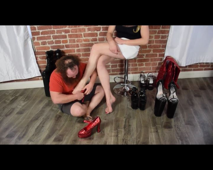Goddess Severa Foot Fetish 037 - GODDESSSEVERA - SD/576p/MP4