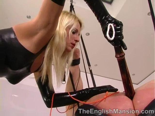 Mistress Natalie Black In Scene: Natalie's Anal Slave - LADYNATALIEBLACK - SD/480p/MP4