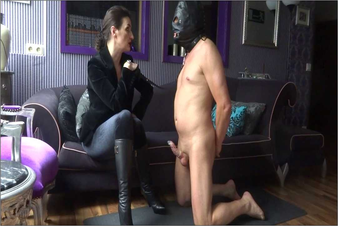 Lady Victoria Valente In Scene: Lick my leather boots - CLIPS4SALE / LADYVICTORIAVALENTE / REAL GERMAN MISTRESS - HD/720p/MP4