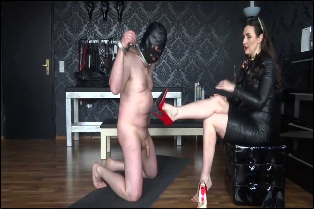 Lady Victoria Valente In Scene: The horny slave made Part 2 - CLIPS4SALE / LADYVICTORIAVALENTE / REAL GERMAN MISTRESS - HD/720p/MP4