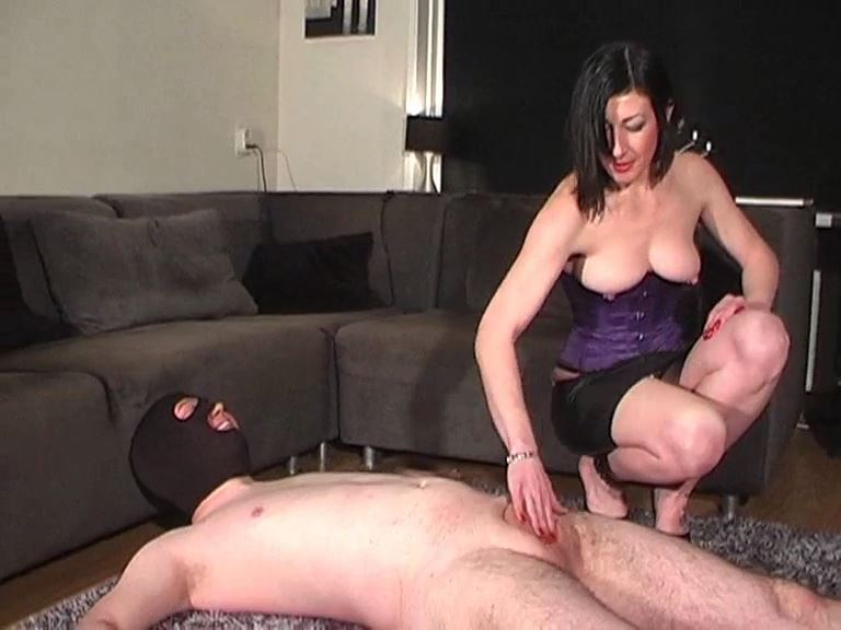 Mistress Anita Divina In Scene: THANK YOU MISTRESS FOR BUSTING MY BALLS - MISTRESSANITADIVINA - SD/576p/MP4