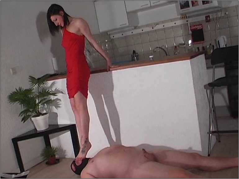 Mistress Anita Divina In Scene: RED TRAMPLE - MISTRESSANITADIVINA - SD/576p/MP4