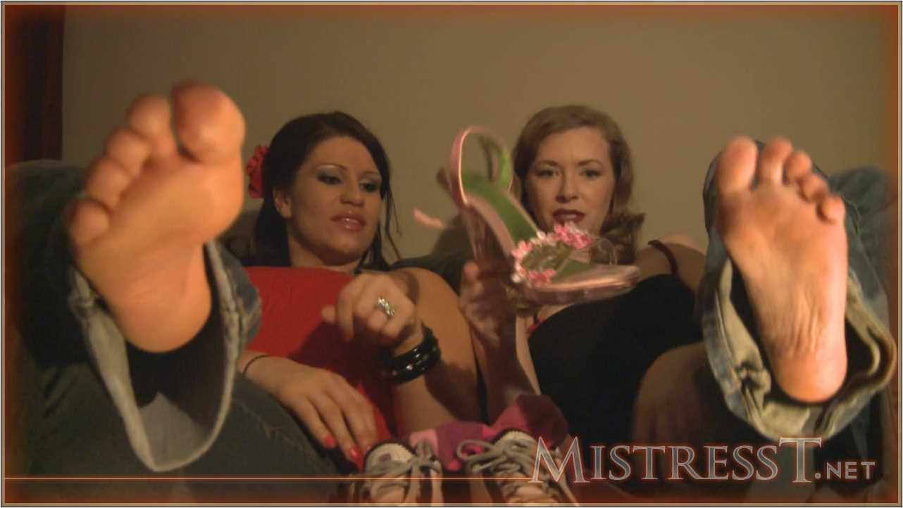 Mistress T In Scene: Candid Foot And Shoe Fetish Humiliation - MISTRESST - HD/720p/MP4