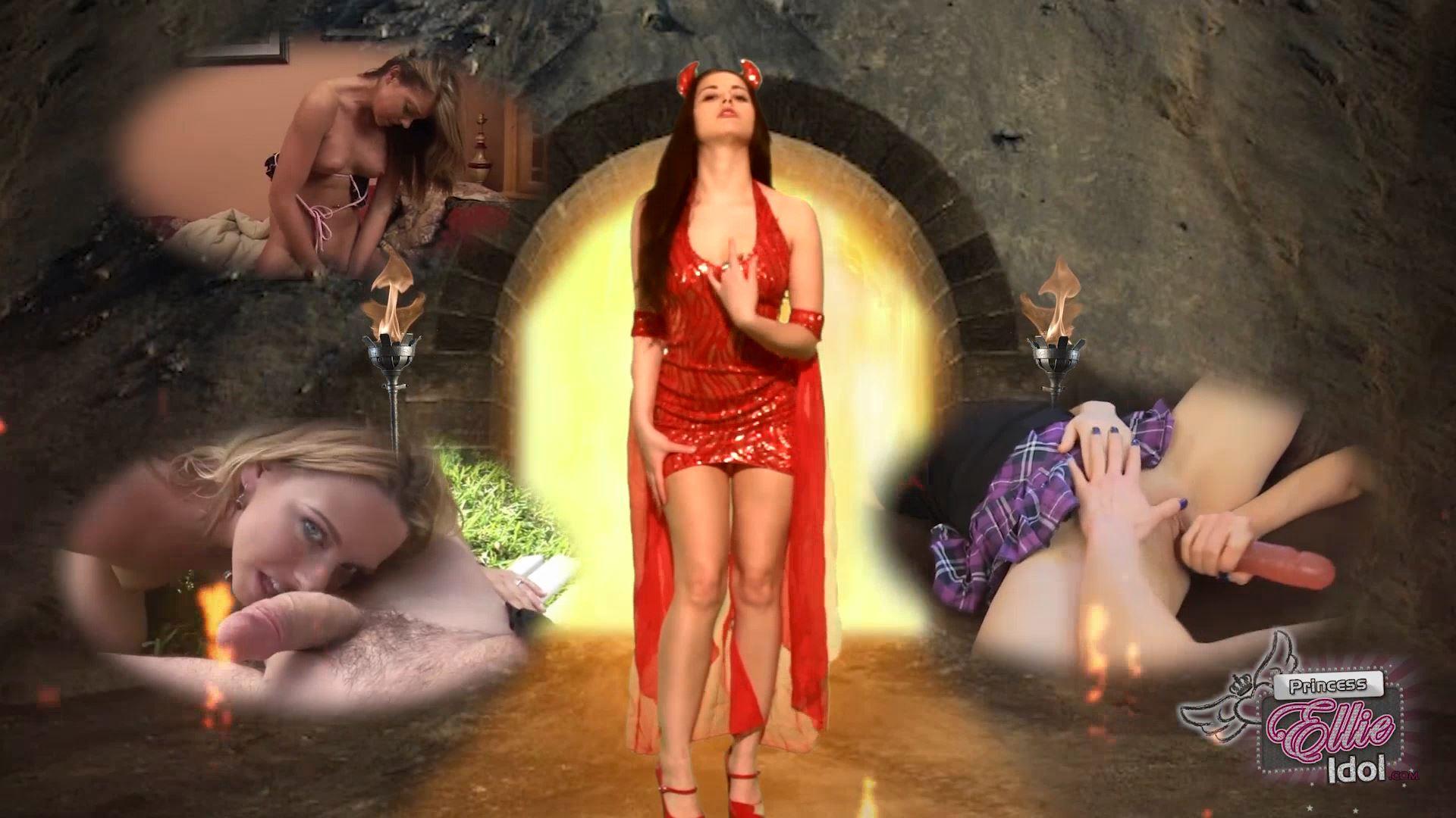 Ellie Idol Wel In Scene: Cum To Hell - PRINCESSELLIEIDOL - FULL HD/1080p/MP4