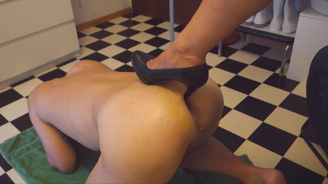 Shoe Fisting Foot Fisting Cock Pump Anal Pump Nurse - RENE62 & PERFECTNURSE - HD/720p/MP4