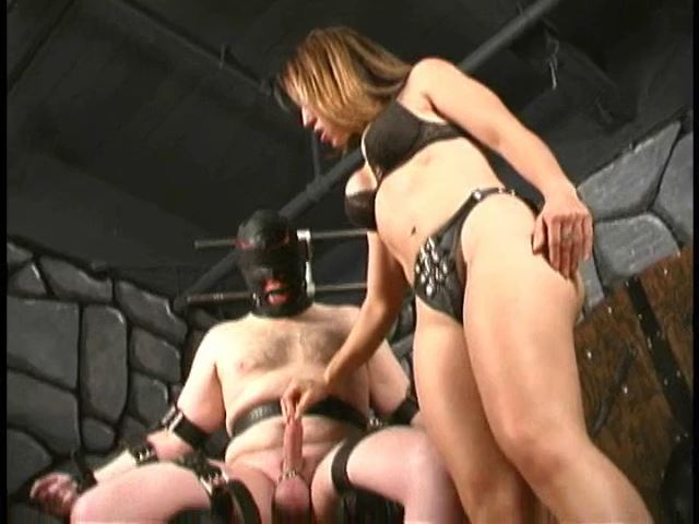 Mistress A`IE In Scene: Bound And Ball Busted - RUTHLESSVIXEN - SD/480p/MP4