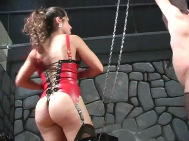 Mistress A`IE In Scene: Whipping their slutty slave - RUTHLESSVIXEN - SD/480p/MP4