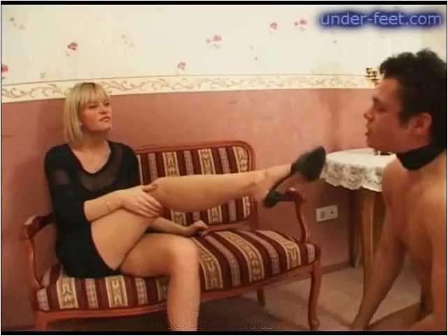 Rita & Irina Foot femdom session from 13 of February 2008 - UNDER-FEET - SD/480p/MP4