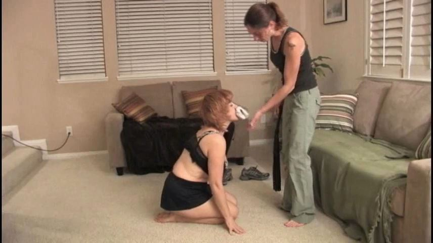 Mistress Ginger In Scene: Calliste is forced to perform humiliating doggy tricks - VIOLENTCHICKS - SD/480p/MP4