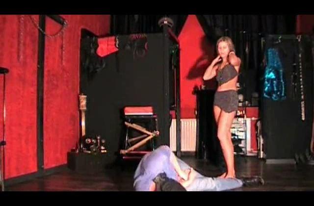 Mistress Janina In Scene: Break him Part 4 - BALLBUSTING JANINA CRUEL FEMDOM - SD/420p/MP4