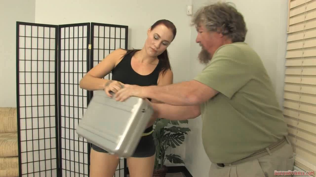 Jolene is not done with the pervy woman beater - BEATENBYGIRLS - HD/720p/MP4