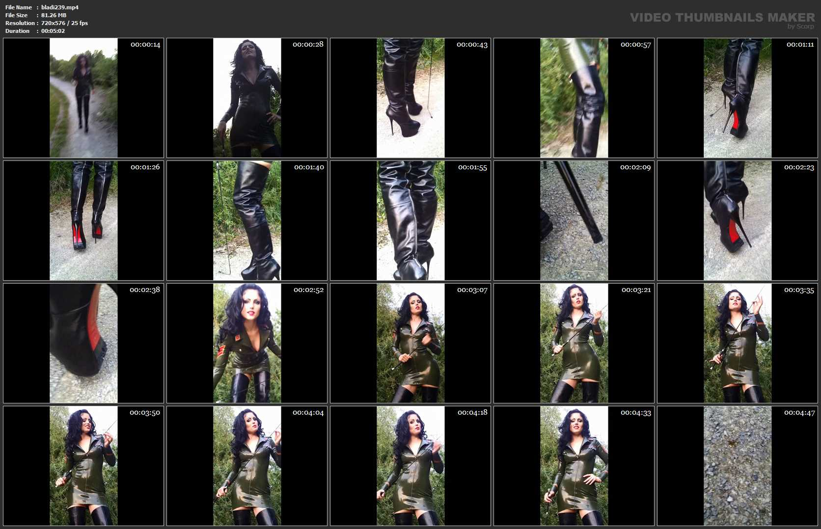 Mistress Blackdiamoond In Scene: Perverse Tensioner - BLACKDIAMOOND - SD/576p/MP4