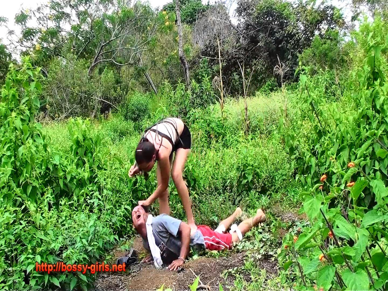 Mistress Yaza, Mistress Vicky In Scene: BAD MANNERS GIRLS 02 Abusive Ms Liz - BOSSY-GIRLS - FULL HD/1080p/MP4