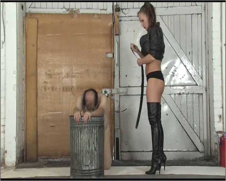 Mistress Ashleigh Ember In Scene: Leather Domina Part 3 - THEBRITISHINSTITUTION - SD/576p/MP4