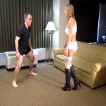 Princess Evelyn Milano In Scene: Evelyn Milano Bashes Some Balls – CRUDELIS AMATOR BALLBUSTING FETISH – SD/480p/MP4