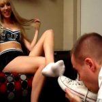 Princess Rene In Scene: Cheer Captain Princess Rene's Foot Slave – CRUDELIS AMATOR BALLBUSTING FETISH – SD/480p/MP4