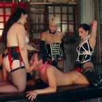 Cybill Troy, Mona Wales, Domina Helena, Hannah Hunt, Mistress Valentine In Scene: NEXT-LEVEL STRAP-ON: THE FEMDOM GANGBANG OF THE CENTURY – CYBILLTROY – SD/406p/MP4