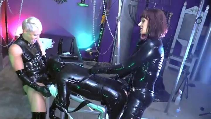 Mistress Andrea Untamed In Scene: RUBBER FUCK-TOY ANNIHILATION - CYBILLTROY - SD/406p/MP4