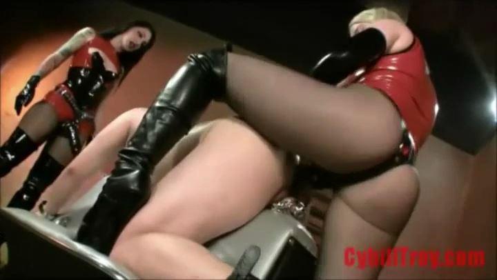 Cybill Troy, Lexi Sindel In Scene: FEROCIOUS FUCK DUO - CYBILL TROY`S DTLA DOMINAS - SD/406p/MP4