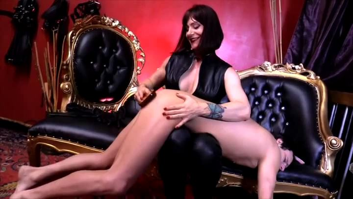 Mistress Andrea Untamed In Scene: OVER THE KNEE OF A GODDESS - CYBILL TROY`S DTLA DOMINAS - SD/406p/MP4