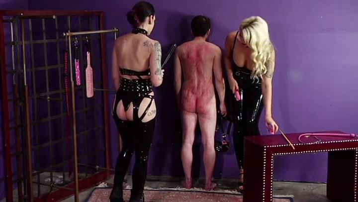 Cybill Troy, Bella Bathory In Scene: TORN APART BY MISTRESSES' WHIPS - CYBILL TROY`S DTLA DOMINAS - SD/406p/MP4