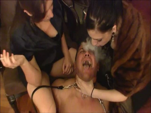 Cybill Troy In Scene: DOUBLE HUMAN ASHTRAY & SPITTOON - CYBILL TROY`S DTLA DOMINAS - SD/480p/MP4