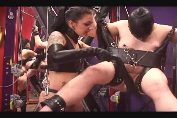 Cybill Troy In Scene: COCK BURNING, CANING & CBT ON SUSPENDED SLAVE - CYBILL TROY`S DTLA DOMINAS - SD/480p/MP4