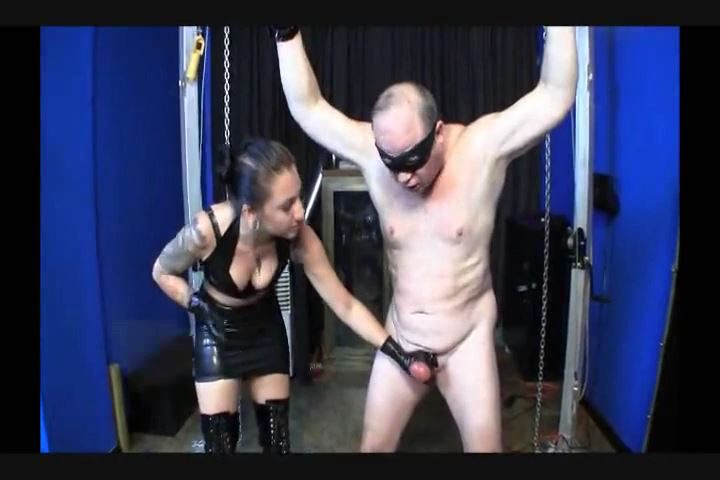 Cybill Troy In Scene: BALL CANING & PUNCHING FOR YOUR OWN GOOD - CYBILL TROY`S DTLA DOMINAS - SD/480p/MP4