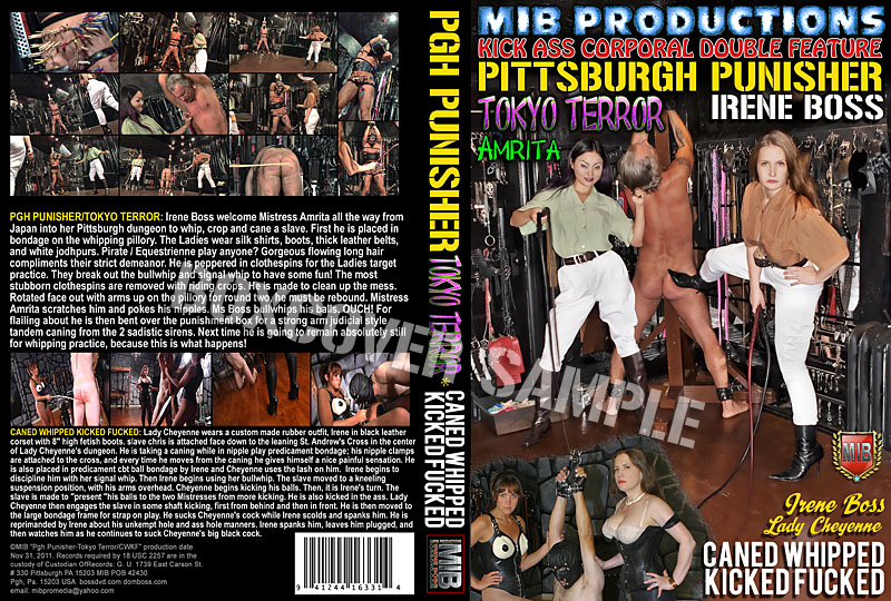 Mistress Amrita In Scene: Pittsburgh Punisher, Tokyo Terror - DOMBOSS / MIB PRODUCTIONS - HD/720p/MP4