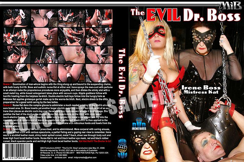 Mistress Kat In Scene: The Evil Dr Boss - DOMBOSS / MIB PRODUCTIONS - HD/720p/MP4