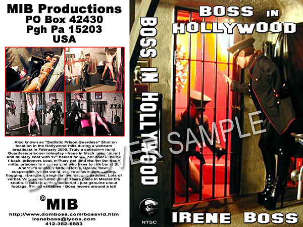 Domina Irene Boss In Scene: Boss in Hollywood - DOMBOSS / MIB PRODUCTIONS - SD/480p/MP4