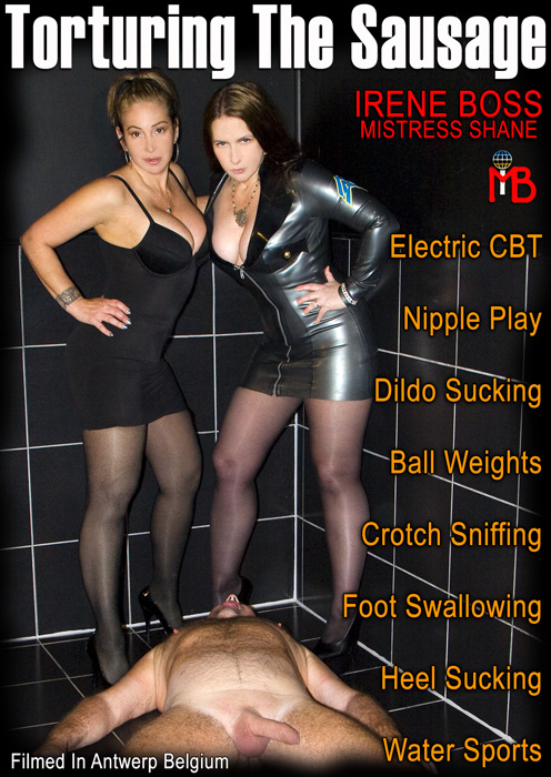 Mistress Shane In Scene: Torturing the sausage - DOMBOSS / MIB PRODUCTIONS - HD/720p/MP4