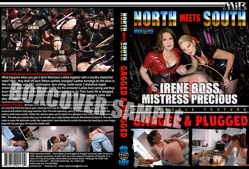 Domina Irene Boss In Scene: North meets South - DOMBOSS / MIB PRODUCTIONS - HD/720p/MP4