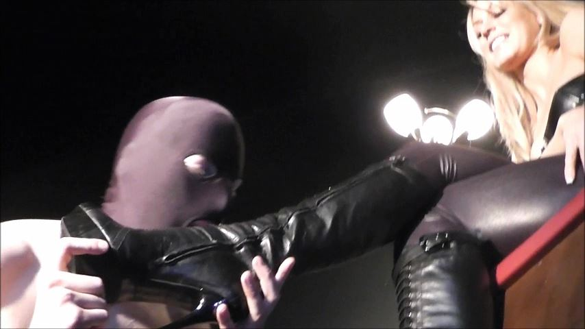 UK Mistress Elise In Scene: Lick My Boots Boy -  ELISE BULLIES BALLS UK - SD/480p/MP4