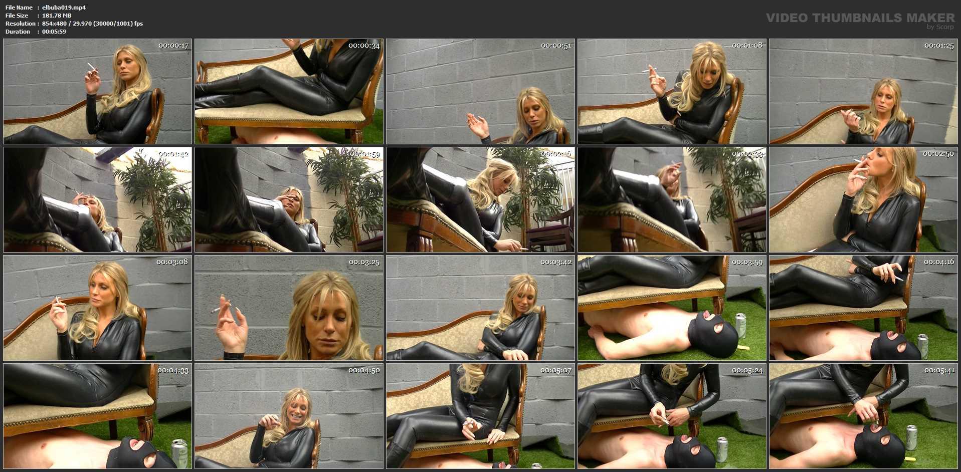 UK Mistress Elise In Scene: Dry Mouth -  ELISE BULLIES BALLS UK - SD/480p/MP4