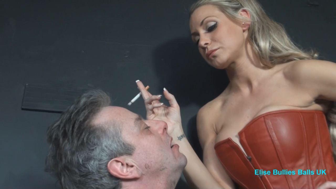 Mistress Elise In Scene: Eat My Butt - CLIPS4SALE / ELISE BULLIES BALLS UK - HD/720p/MP4