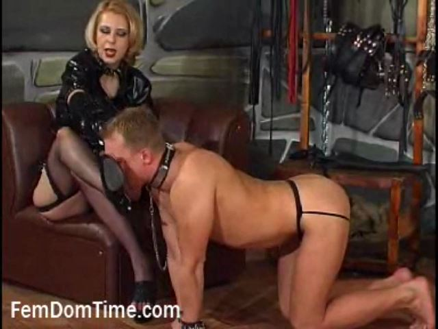 Mistress Constance In Scene: An Ash Tray - FEMDOMTIME - SD/480p/MP4